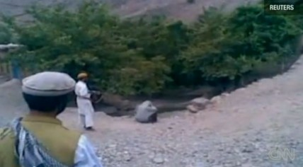 Najiba, a 22-year-old Afghan woman, is executed by her husband