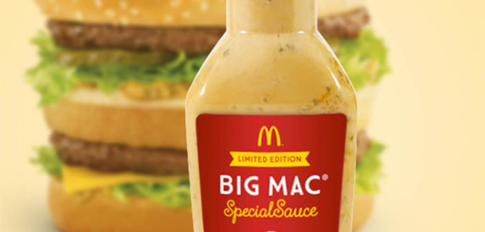 McDonald's begins selling Big Mac 'special sauce' in tubs and bottles