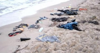 Dead migrants wash up on beach in Turkey
